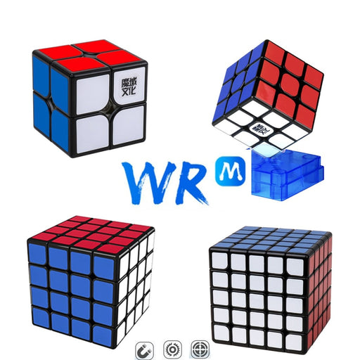 MoYu WR M 2x2 3x3 4x4 5x5 Magic Cube Puzzle Kit - Stickerless