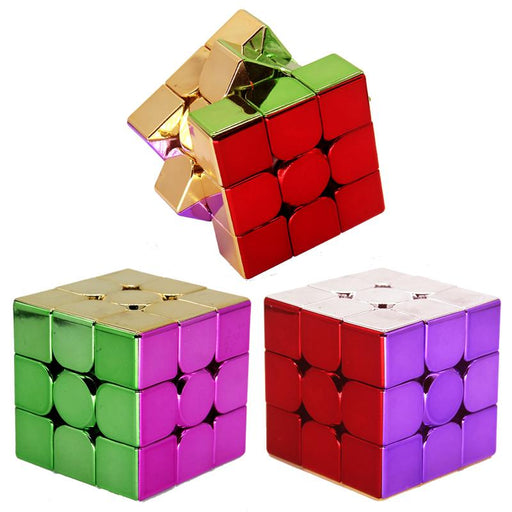 Electroplated Meilong 3C 3X3 Cube