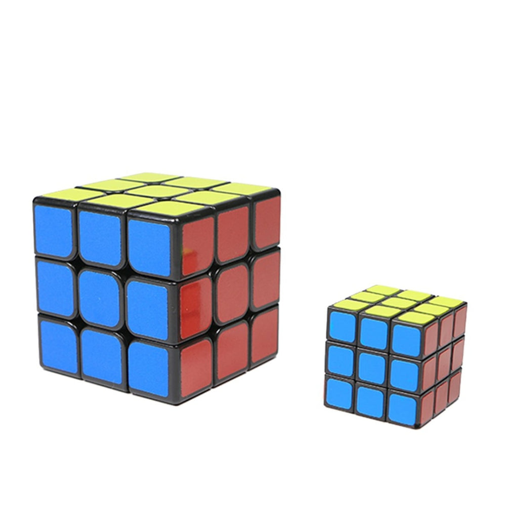 Synchronous Magic Cube Puzzle 3x3x3 Close-up Stage Street Magic Tricks