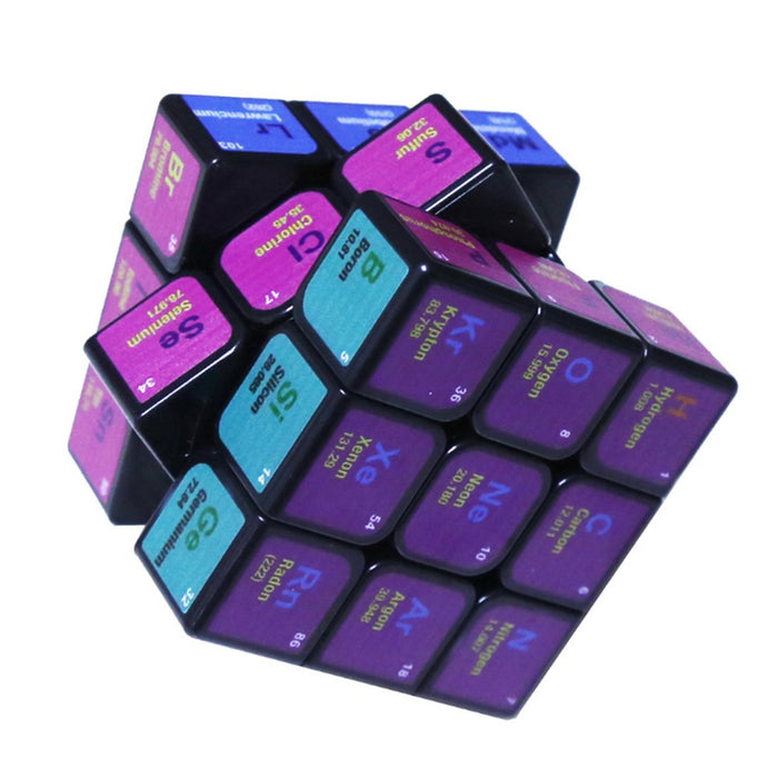 UV Chemical Element 3x3 Cube