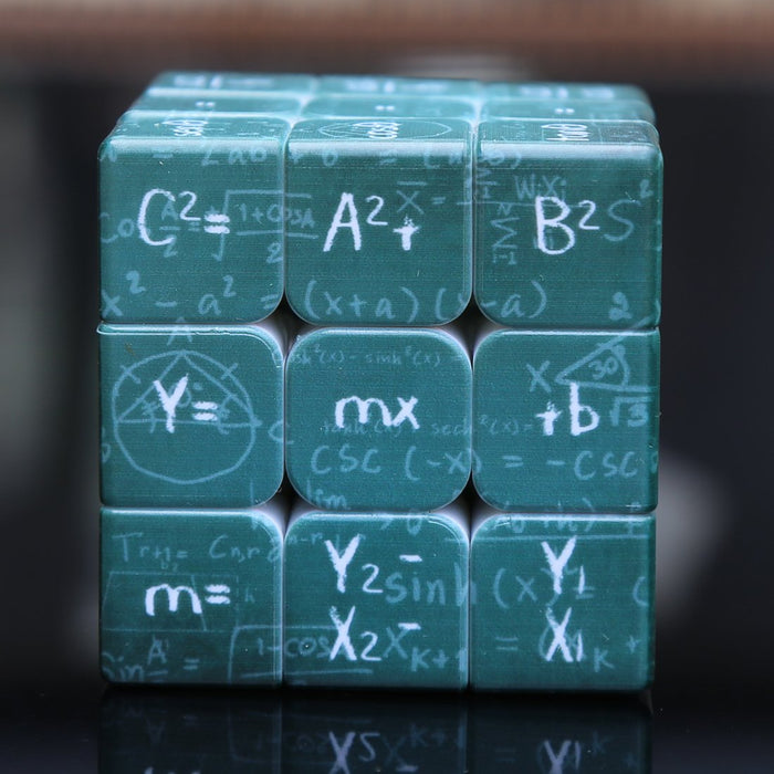 UV Physical  formula 3x3 Cube - Green