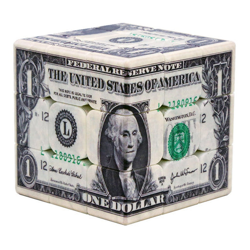 UV Printing USA Dollar Pattern 3x3 Cube