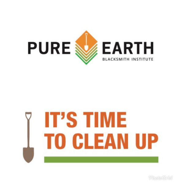 April's Charity of Choice: Learn how you can help Pure Earth take care of people by cleaning up the planet!