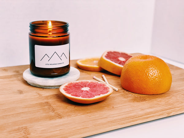 Hand-Poured, 100% Soy Candles