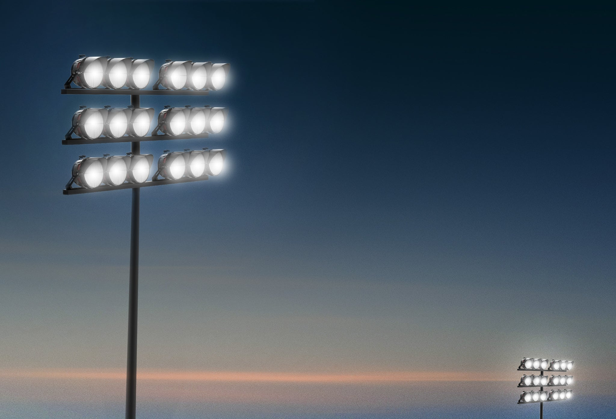 Eaton Ephesus alternative competitor better value - LED sports lighting