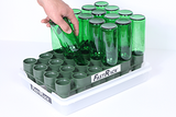 FastRack Bottle Dryer and Tray, 12 or 16 oz Beer Bottle Friendly