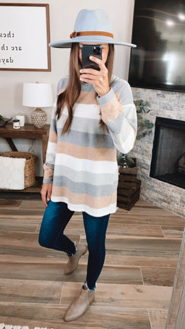 SOUTHERN STRIPE TOP
