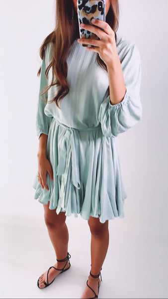 DREAM SHIFT DRESS - Mint