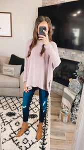 MISTY MAUVE SWEATER