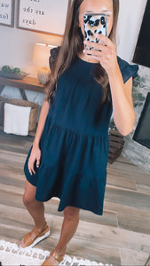 SOUTHERN SHIFT DRESS - Navy