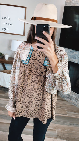 INTO THE WILD BOHO TOP