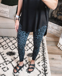 BLACK LEOPARD BUTTER SOFT LEGGINGS