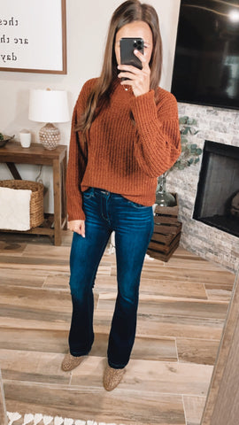 HAZELNUT HAVEN SWEATER