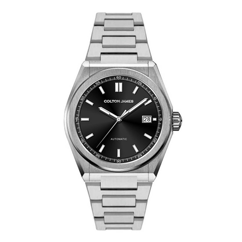 Maverick Automatic Mens Watch - Silver