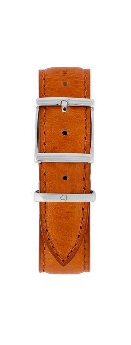 18mm Tan Leather Strap - Colton James Timepieces