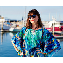 Load image into Gallery viewer, PeacoVian  Long Kaftan