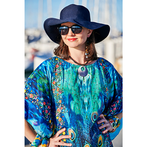 PeacoVian  Long Kaftan