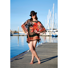 Load image into Gallery viewer, Reddy Lotuszanny Short Kaftan