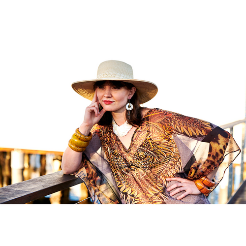 Junglely Short Kaftan