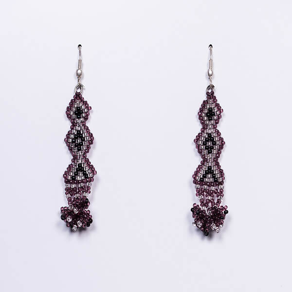 Purp Earrings