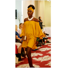 Load image into Gallery viewer, Jenna Dress - Honey Yellow