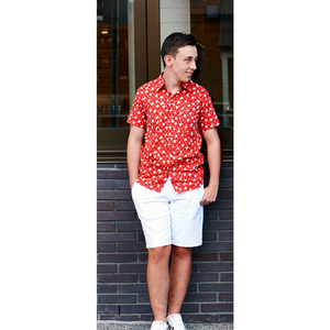 Hunter Short Sleeve Shirt - 3 Sizes In 2 Colours