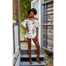 Load image into Gallery viewer, Mercia Playsuit White