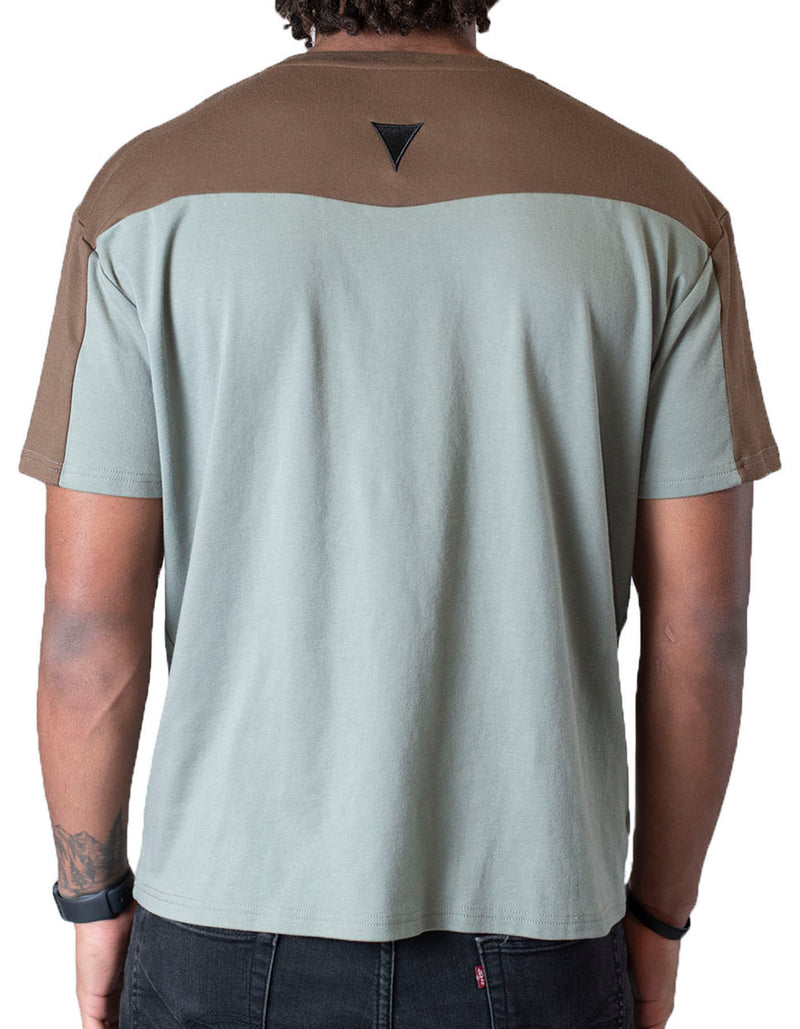 Short Sleeve Crew Collar
