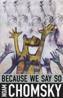 Because We Say So book cover