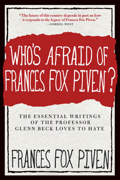 Who's Afraid of Frances Fox Piven? book cover