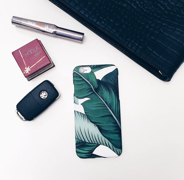 Banana Leaf iPhone Cover
