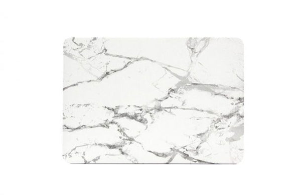 White Marble MacBook Cover
