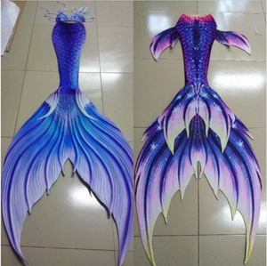 Buy Swimmable Mermaid Tail for Women with Monofin Bikini Suit Cospaly Costume Adult