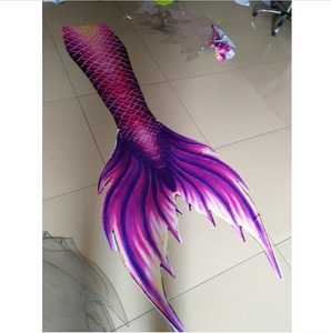 Gently Purple Swimmable Mermaid Tails for Adults Women with Monofin