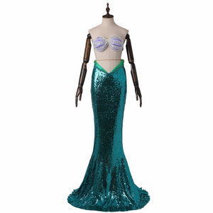 The Little Mermaid Ariel Cosplay Costume Mermaid Costume for Adults