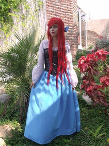 Ariel Blue Dress Ariel Little Mermaid Dress Cosplay Costume