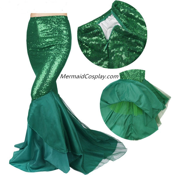 Sexy Slim Long Mermaid Tail Skirt for Women
