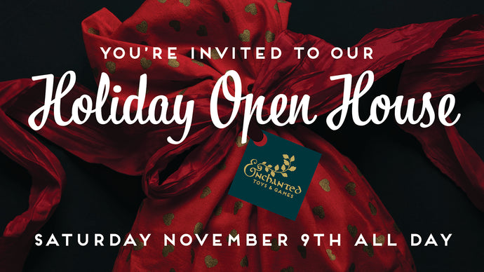 November 9: Holiday Shopping Open House