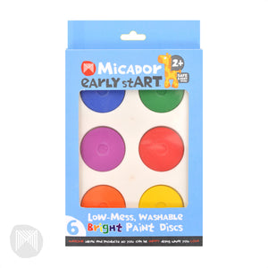 Early stART - Washable Paint Discs - Bright