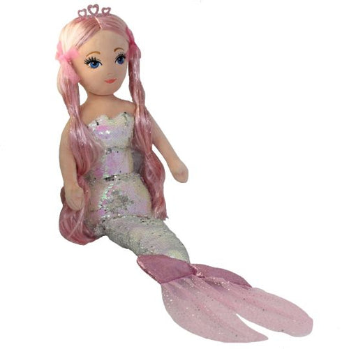 Cora the Mermaid - Sequin Pink (small)