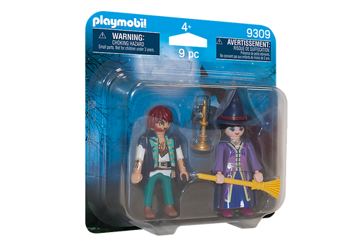 PLAYMOBIL - Wolfman & Witch