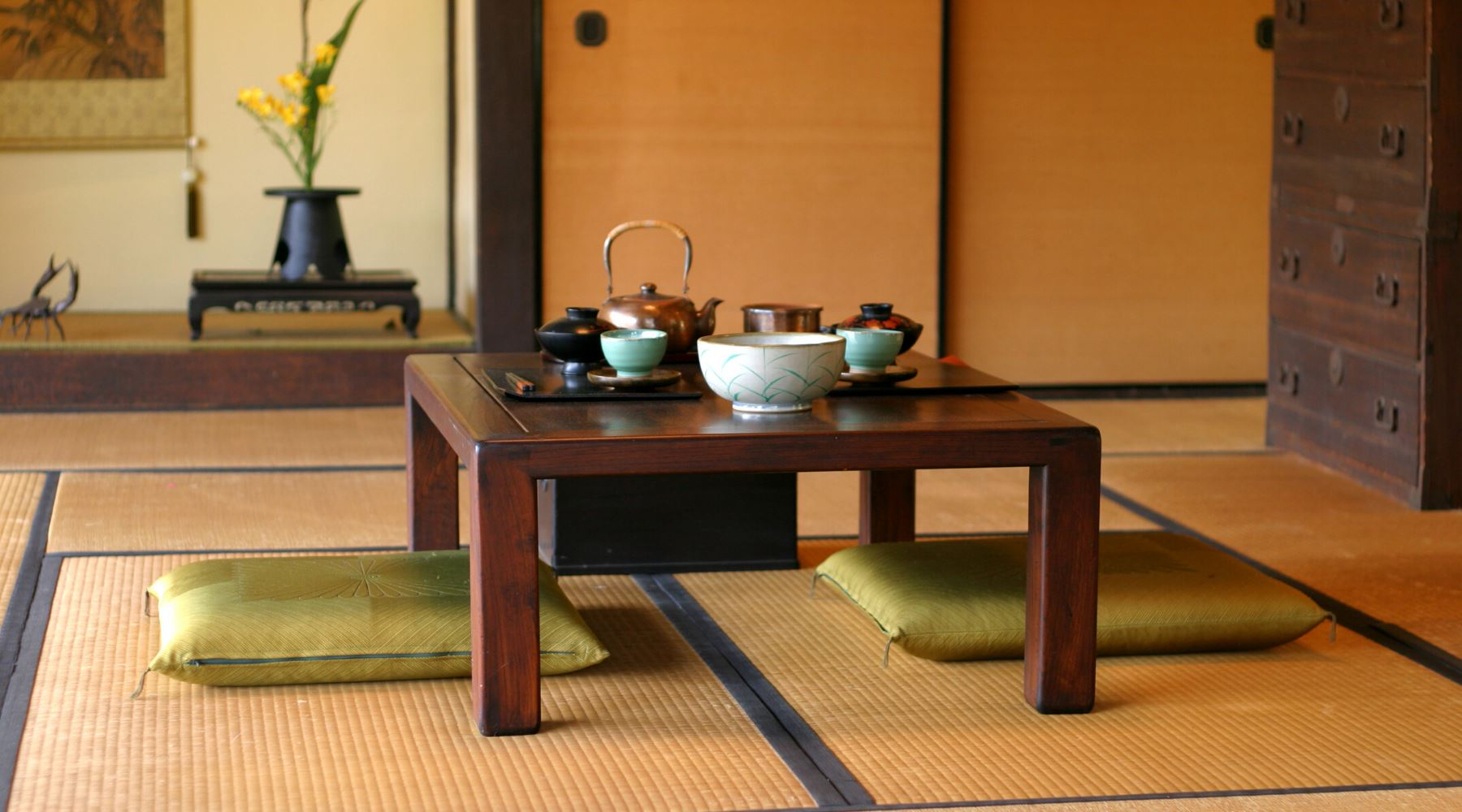 Japanese Tea Ceremony Utensils and Equipment