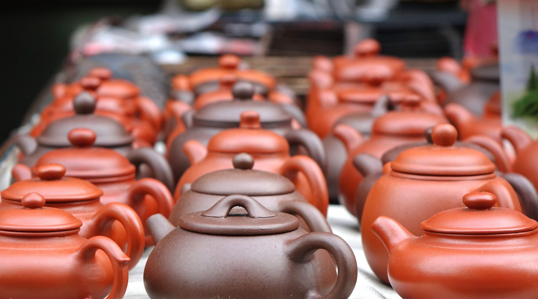 Yixing Purple Clay Traditional Chinese Teapots
