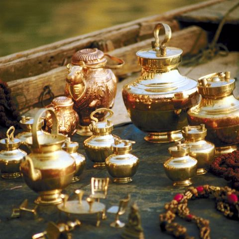 Ancient India Tea Set