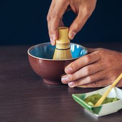 Matcha tea bowl