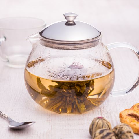 Lotus Tea Teapot