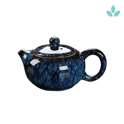 Asian Glazed Teapot