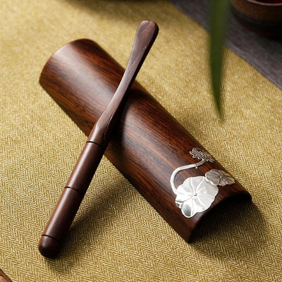 Bamboo Tea Scoop Tea Clip