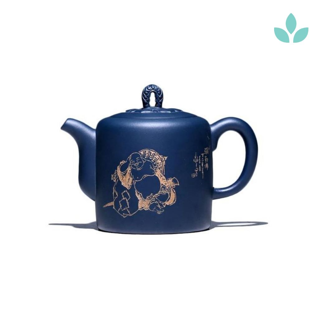 Blue Chinese Clay Teapot