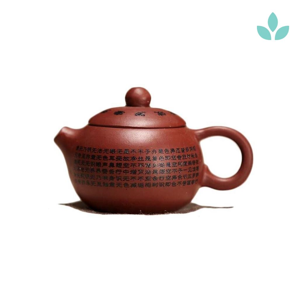 Buddhist Scriptures Yixing Teapot